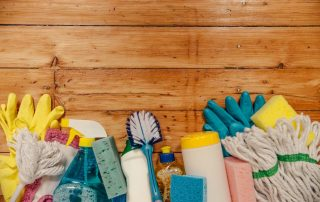 cleaning supplies for your London house