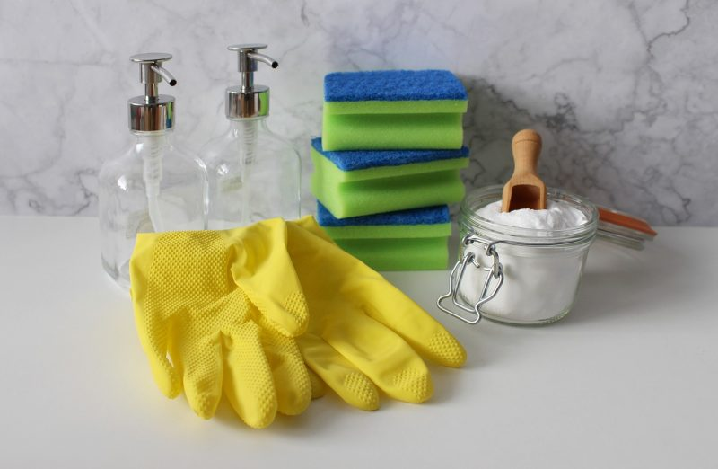natural cleaning ingredients for your London house