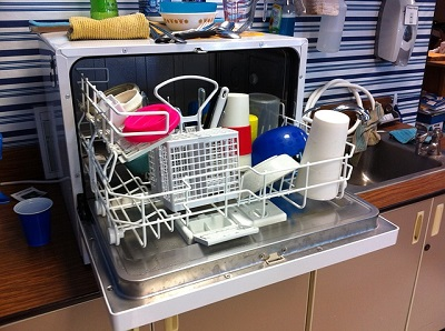 dishwasher in a London house