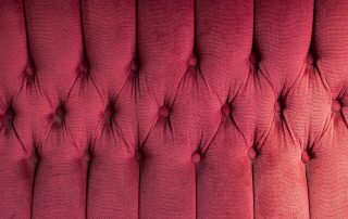 upholstery in a London house