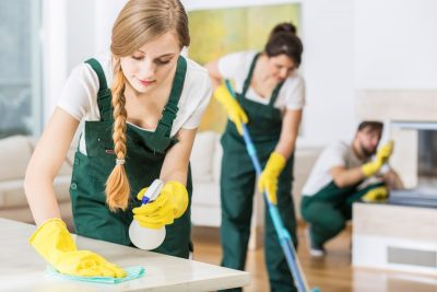 What services do professional London cleaners offer?