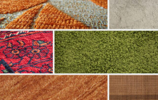 different kinds of carpet fibers
