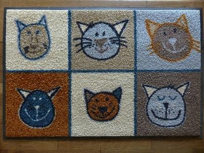 doormat in a London home