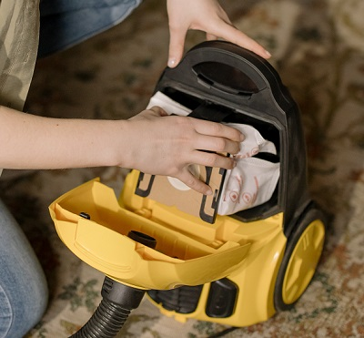 cleaning your hoover