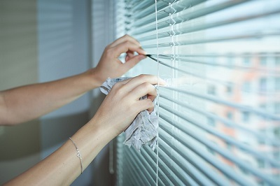 blinds cleaning on the spot