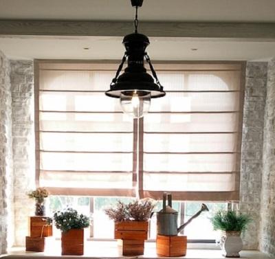 window shades at home