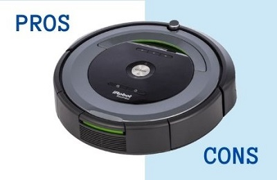 pros and cons of robot vacuum cleaners